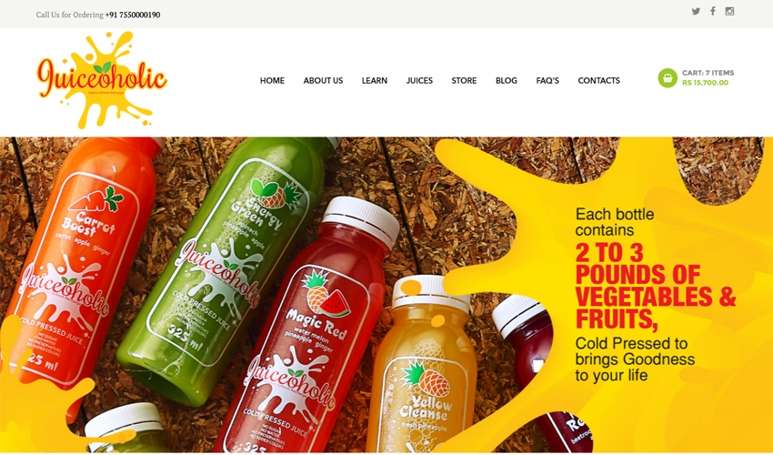 Online JuiceShop – eCommerce Website