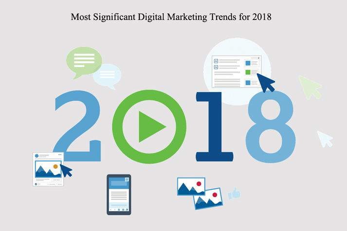 Most Significant Digital Marketing Trends for 2018