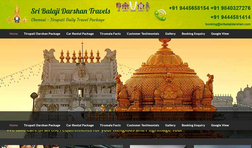 Sri Balaji Darshan Travels
